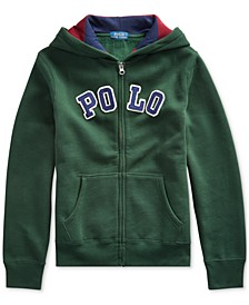Big Boys Cotton-Blend-Fleece Hoodie