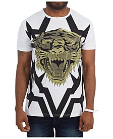 3D Graphictiger Face T-Shirt
