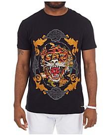 3D Graphic Tiger T-Shirt
