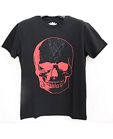 3D Graphic Dual Color Studded T-Shirt