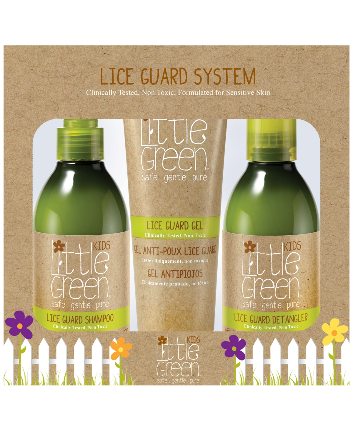Lice Guard System Set of 3