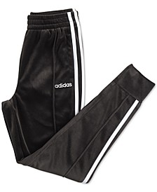 Little Girls Velour Jogger Pants