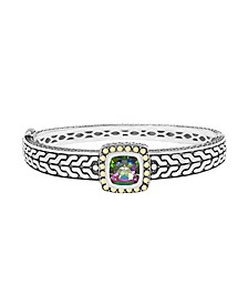 EFFY® Mystic (4-3/4 ct. t.w.) Bangle in 18k Yellow Gold and Sterling Silver