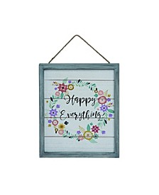Multicolor Easter Hello Spring Hanging Wall Decor