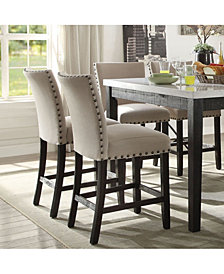 Acme Furniture Nolan Counter Height Chair, Set of 2