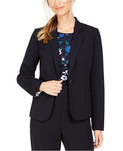 Calvin Klein Single-Button Blazer