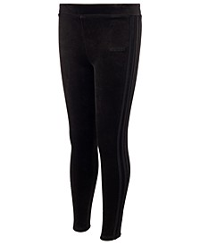 Big Girls Velour Leggings