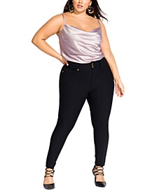 Trendy Plus Size Asha Skinny Jeans