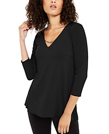 Pullover Top with Hardware, Created For Macy's