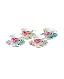 Miranda Kerr for  Everyday Friendship Teacup & Saucer Set of 4
