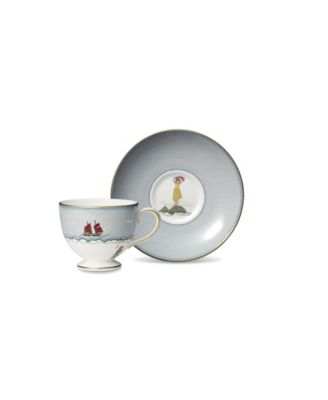 Sailors Farewell Teacup & Saucer Set