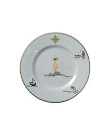 "Sailors Farewell Accent Plate 9"""