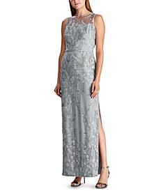 Lace-Yoke Gown