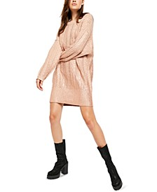 Good As Gold Sweater Dress