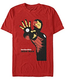 Men's Invincible Iron Man Poster, Short Sleeve T-shirt