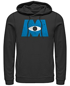 Pixar Men's Monsters Inc. Eye Logo, Pullover Hoodie