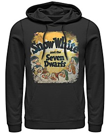 Men's Snow White Dwarfs Vintage Inspired Cover Pullover, Fleece