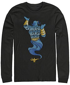 Men's Aladdin all Powerful Genie, Long Sleeve T-Shirt