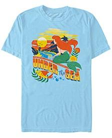 Men's Little Mermaid Ariel Under the Sea, Short Sleeve T-Shirt