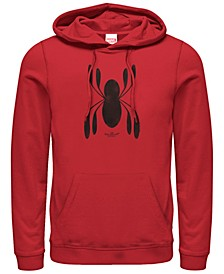 Men's Spider-Man Far From Home Homecoming Chest Logo, Pullover Hoodie