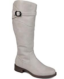 Women's Extra Wide Calf Brooklyn Boot