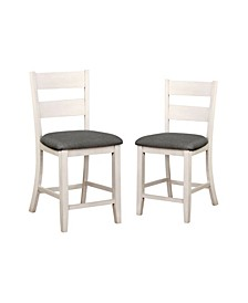 Pierremont Slat Back Counter Chair (Set of 2)