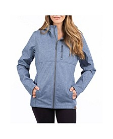 Livy Hooded Softshell Jacket