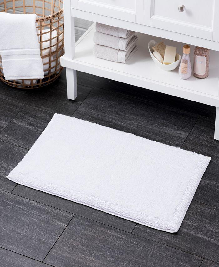 "Welhome - Turkish Cotton 21"" x 34"" Bath Rug"