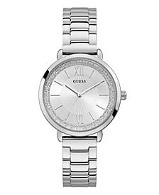 Women's Silver-Tone Stainless Steel Watch, 38mm