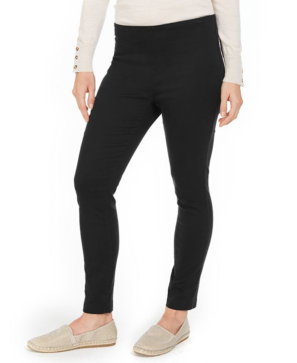 Charter Club Petite Chelsea Stretch Twill Cropped Pants, Created for Macy's