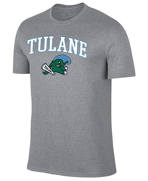 Retro Brand Men's Tulane Green Wave Midsize T-Shirt