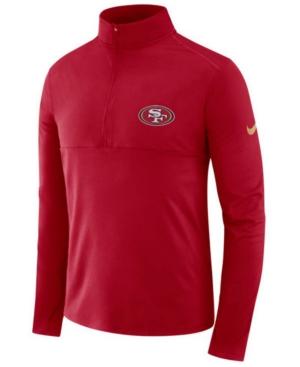 Nike Men's San Francisco 49ers Core Half-Zip Pullover