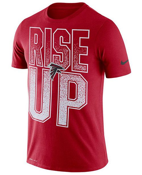 Nike Men's Atlanta Falcons Dri-Fit Cotton Mezzo Local Verbiage T-Shirt