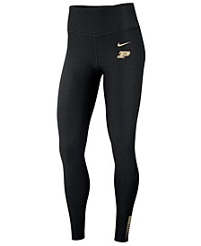 Women's Purdue Boilermakers Power Sculpt Leggings