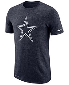 Men's Dallas Cowboys Marled Historic Logo T-Shirt