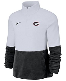 Women's Georgia Bulldogs Therma Long Sleeve Quarter-Zip Pullover