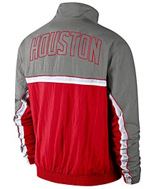 Men's Houston Rockets Courtside Tracksuit Jacket