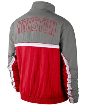 Nike Men's Houston Rockets Courtside Tracksuit Jacket