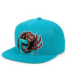 Vancouver Grizzlies Hardwood Classic Cropped Snapback Cap
