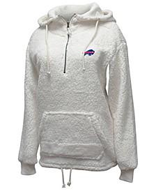 Women's Buffalo Bills Sherpa Quarter-Zip Pullover