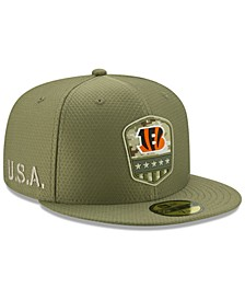 Cincinnati Bengals On-Field Salute To Service 59FIFTY-FITTED Cap