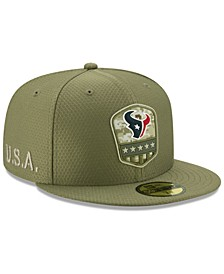 Houston Texans On-Field Salute To Service 59FIFTY-FITTED Cap