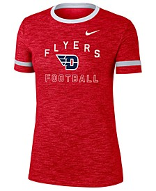 Women's Dayton Flyers Slub Fan Ringer T-Shirt