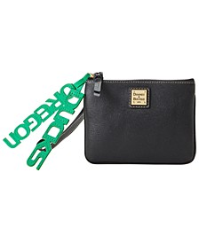 Oregon Ducks Saffiano Charm Stadium Wristlet