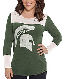 Women's Michigan State Spartans Thermal Long Sleeve T-Shirt