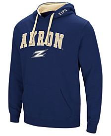 Men's Akron Zips Arch Logo Hoodie