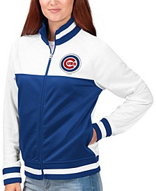 Women's Chicago Cubs Face Off Track Jacket
