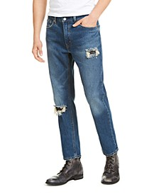 541™ Men's Athletic Fit All Season Tech Ripped and Repaired Jeans