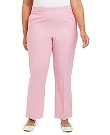 Plus Size Garden Party Proportioned Pull-On Pants