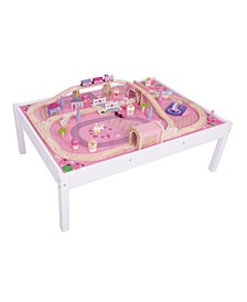 Wooden Magical Train Set and Table